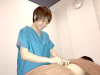 不妊鍼灸 横浜東戸塚院の施術風景