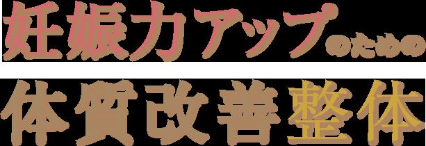 横浜市戸塚区ファンクショナルマッサージ治療室 横浜東戸塚院 横浜東戸塚院の妊娠力アップのための体質改善整体